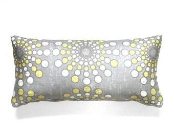 Lumbar Pillow Cover 8X16 Petite Lumbar Grey Pillow Throw Pillow Cover Decorative Pillow Oblong Accent Pillow Cushion Cover