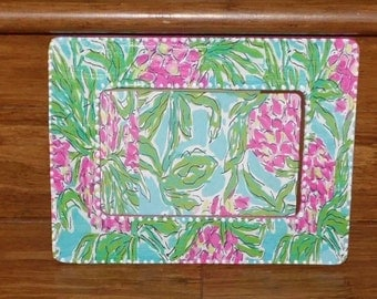 SPIKE THE PUNCH Picture Frame inspired by Lilly, Hand Crafted by Mama Duck Creations