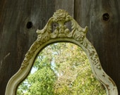 Ornate Shabby Chic French Mirror