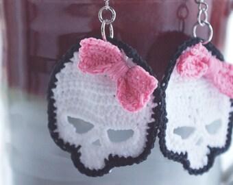 Pretty Crocheted Skull Pattern PDF