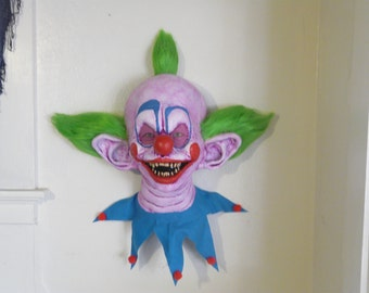 Killer Klowns from outer space SHORTY CLOWN wall plaque