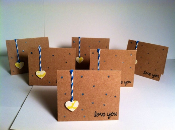 Heartstrings - Set of 6 Mini Cards