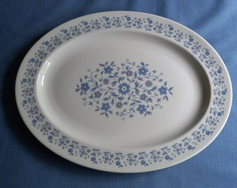 Vintage China Royal Doulton Galaxy Pattern Turkey Platter Wedding Gift Idea Special Occasion Holiday