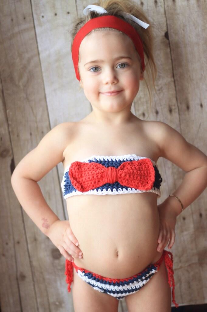 Bikini Bow Bandeaux Newborn to Toddler