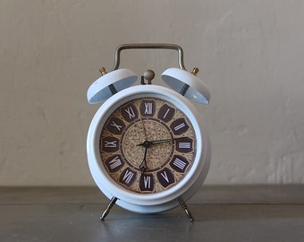 Upcycled Vintage Hungarian Alarm Clock Large