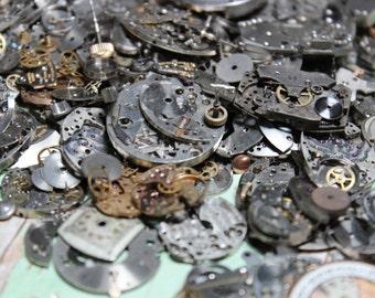 1/2 Ounce Antique Watch Parts