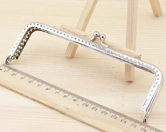 15cm(5.91inch) silver bag sewing metal purse frame FY15