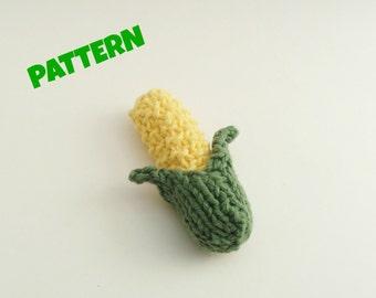 Corn Pattern / Halloween Pattern / Crochet Amigurumi Toy Pattern / Play Food Pattern / Food Pattern / Kid Pattern / Kids Toys / Hallowen Toy