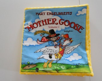 Mother Goose Nursery Rhymes (volume 1) Fabric Book