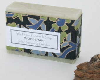Woodsman Soap/  Handmade Soap /bath and beauty body / Gift Ideas For Him