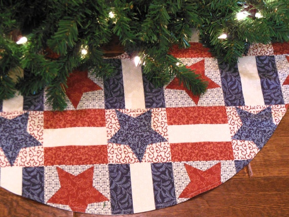 Pattern For Quilted Christmas Tree Skirt