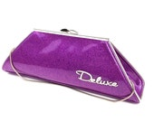 Couture Vintage inspired Handbag Made In USA- Pinky Lee- Coupe Deluxe Purple