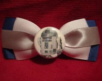 R2D2 Star Wars Hair Bow
