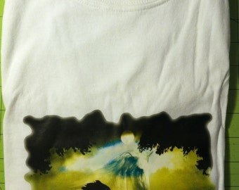 Horse Collections shirt white w/ black background  tshirt    Adult L large INV-546