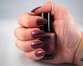 Purple Aroura nail polish by Comet Vomit