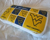 WVU Mountaineers Travel Wipes Case