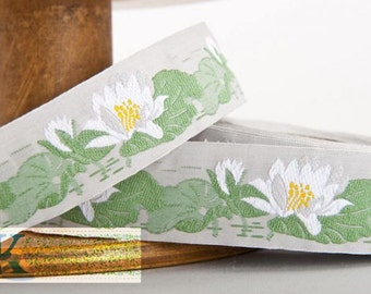 Water Lily Ribbon - 1 meter, Item: 100441-01-100, Made in Germany