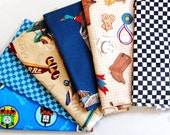 Boy Scraps | Quilting Fabric | Cotton Prints