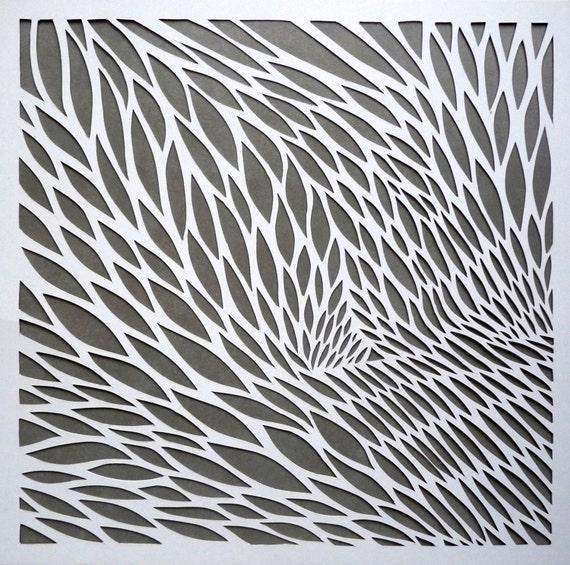 original hand cut paper art. Black Bedroom Furniture Sets. Home Design Ideas