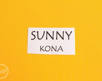 One Yard Sunny Kona Cotton Solid Fabric from Robert Kaufman, K001-449
