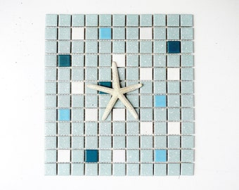 Mid-Century Ceramic Mosaic Tile for Back Splash or Bathroom Tiling