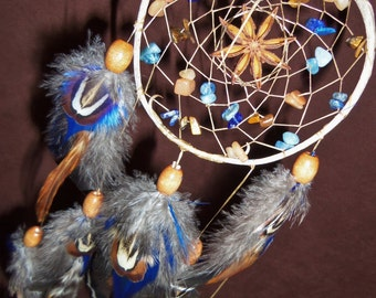 Dream Catcher- Seed of Life- Devils Claw Dream Catcher- Made to Order