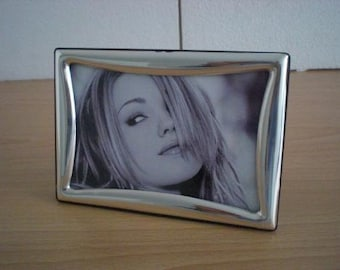 Handmade Sterling Silver Photo Picture Frame 512 10x15 GB new