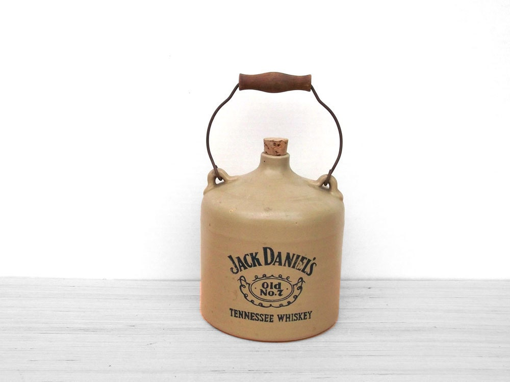 cruche en gr s de vintage jack daniels old n 7 excellent. Black Bedroom Furniture Sets. Home Design Ideas