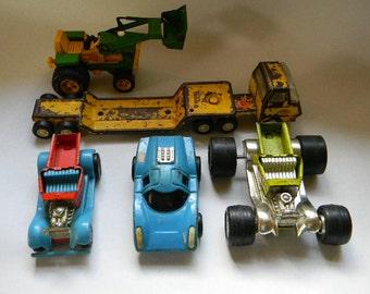 TONKA, 5 Vintage Tonka Toys