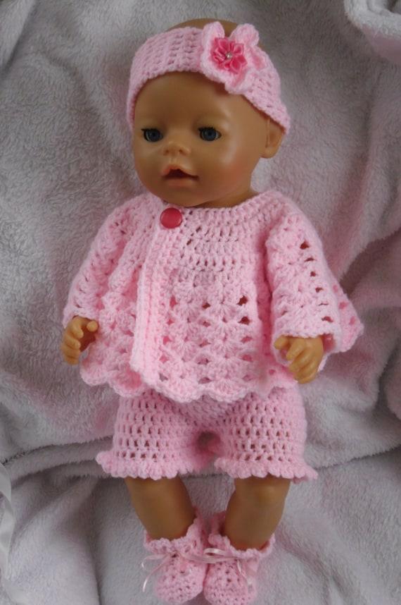 Crochet Pattern Baby Doll : Crochet pattern for 17 inch baby doll by petitedolls on Etsy