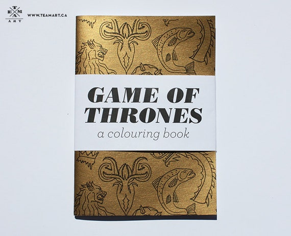 Game Of Thrones A Colouring Book 5 X 7 In