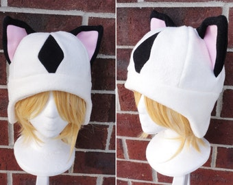Kirara or Kilala InuYasha Hat - Fleece Hat Adult, Teen, Kid - A winter, nerdy, geekery gift!