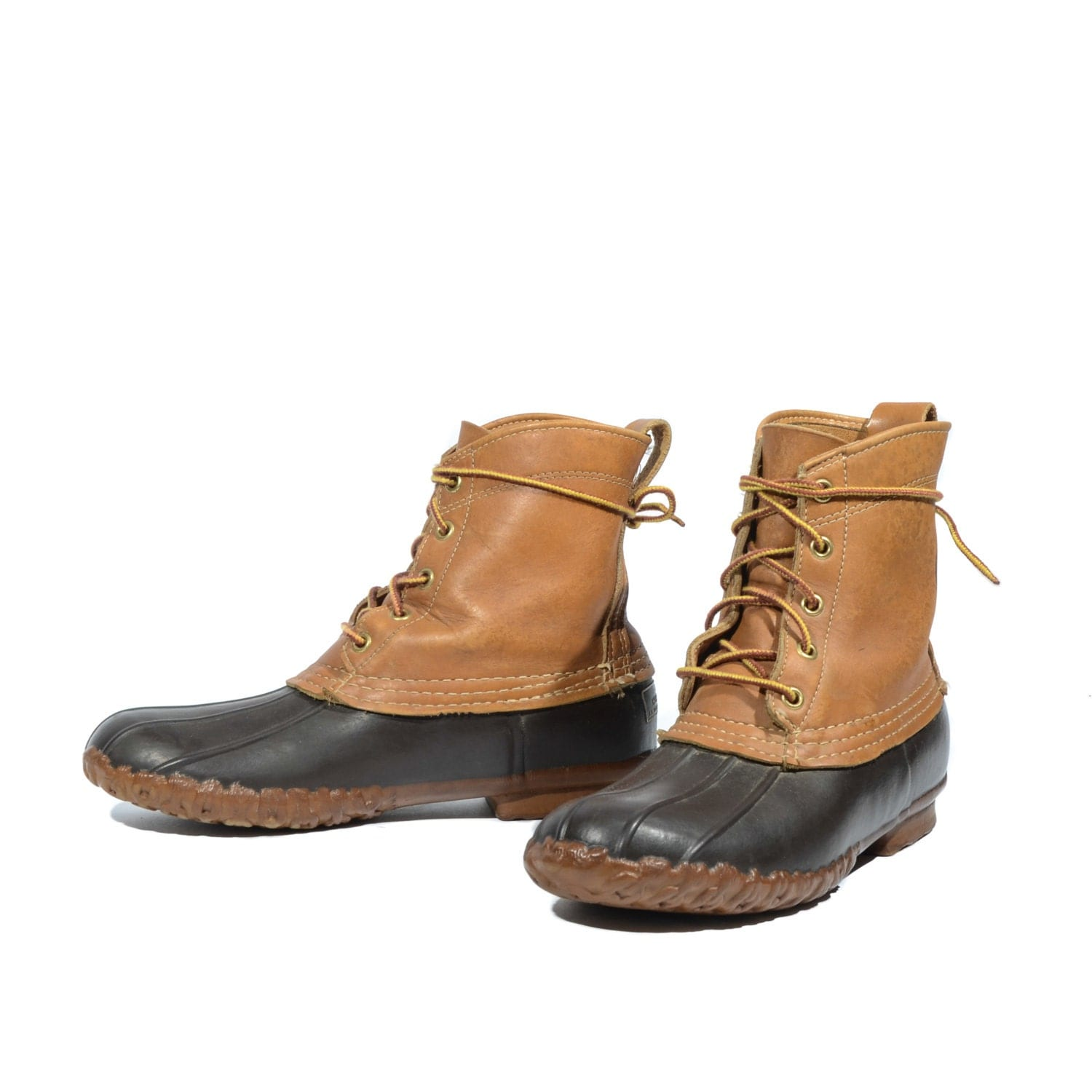 Unique 1950s LL Bean Duck Boots Womens 10 Mens 8