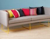 Box sofa - yellow feet
