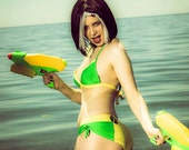 X-Kini Rogue HERO-KINI by SciFeyeCandy X-Men Rogue inspired swimsuit