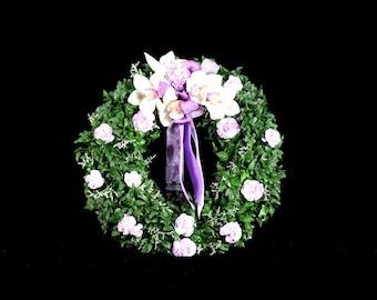 "Live 18"" Ivy Hanging Wreath"