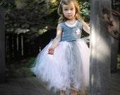 Crochet Tutu Dress Pattern: Coralie Dress, Flower Girl Wedding, Party Dress, 18-36mo