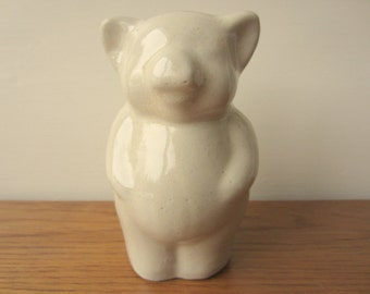 Kentucky Bybee pottery piggy bank.  Collectible Bybee piggy bank.