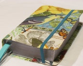 Bible Cover- Available in three sizes Large Print NWT cover, Revised NWT Cover, Pocket NWT -Anjou French Journal fabric
