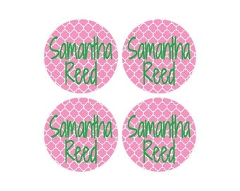 145 Small Round Dishwasher Safe Baby Labels