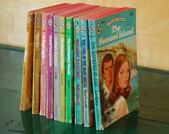 Harlequin Novels Instant Paperback Collection, Vintage Romance Pulp Novels Destash Paper