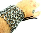 Chainmaille Armor Bracer Arm Guard Cuff