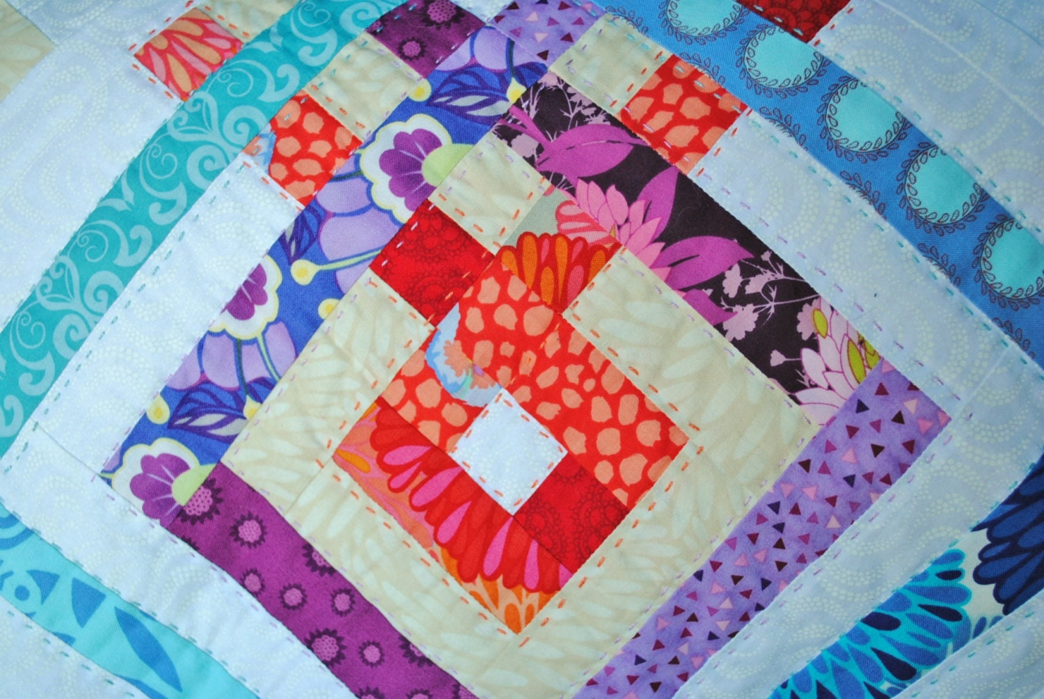 Quilt Patterns Block Of The Month : Block of the Month Quilt Sampler Pattern by RebeccaMaeDesigns