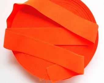 "2"" Neon Orange Stretch Elastic Band"