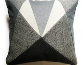 Grey Tweed AU 'After Upholstery' cushion.