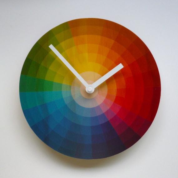 Objectify Color Wheel Wall Clock