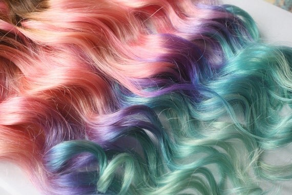 Clip in pastel hair extensions pink hair hair weave wide like this item pmusecretfo Choice Image
