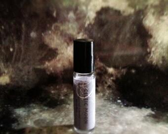 Celtic Moon Perfume Oil - Black Tea, Jasmine, Sandalwood, Celestial Moon Shadow - 8mL