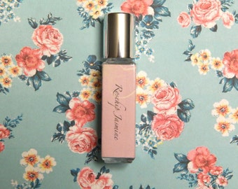 Rosehip Jasmine Perfume Oil - Floral Rose Spring Fresh Scent - 8mL