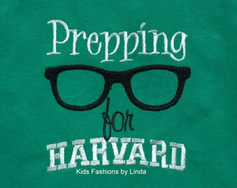 Green Prepping For Harvard School T-Shirt
